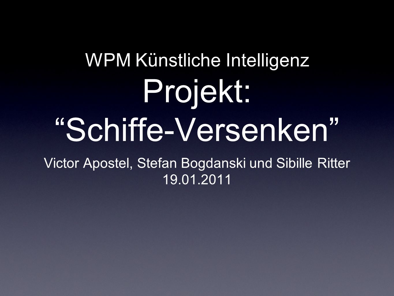 WPM Künstliche Intelligenz Projekt: Schiffe-Versenken