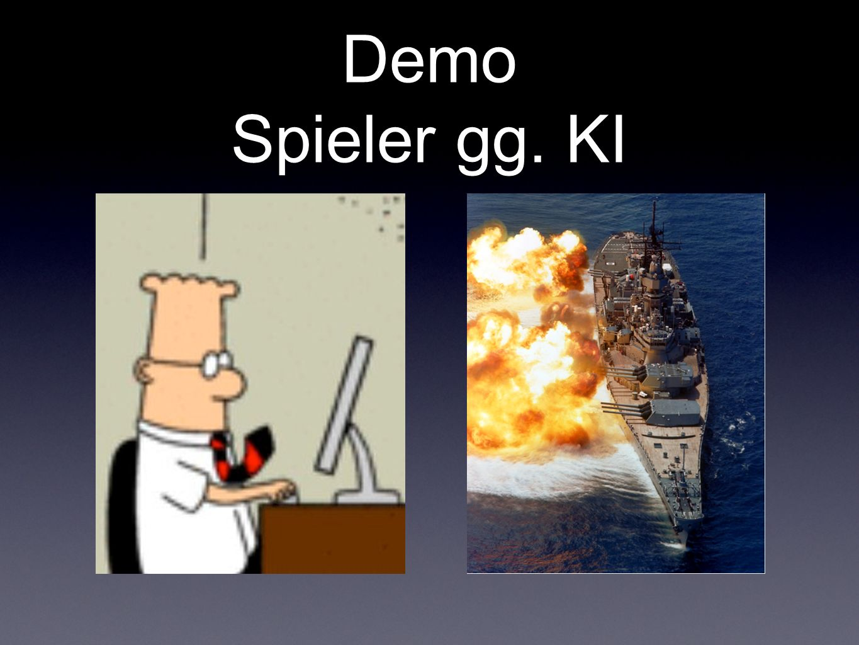 Demo Spieler gg. KI