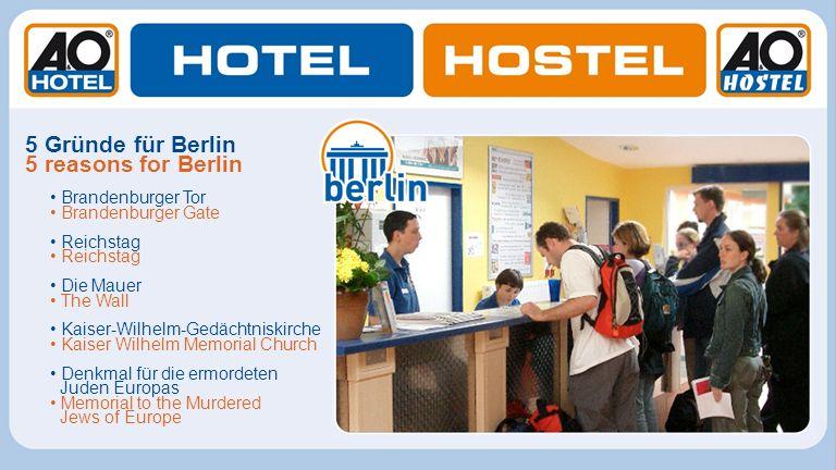 5 Gründe für Berlin 5 reasons for Berlin • Brandenburger Tor