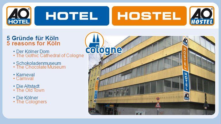 5 Gründe für Köln 5 reasons for Köln • Der Kölner Dom