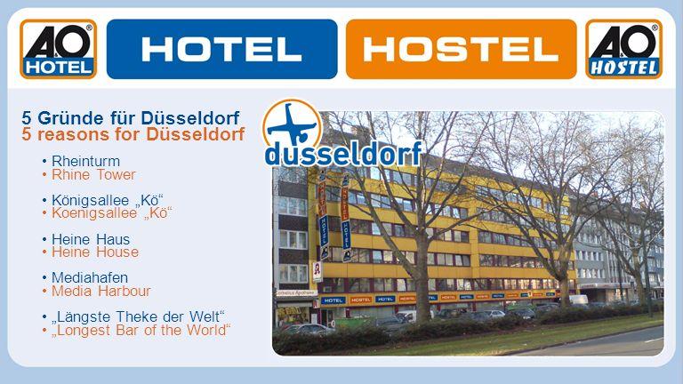 5 reasons for Düsseldorf
