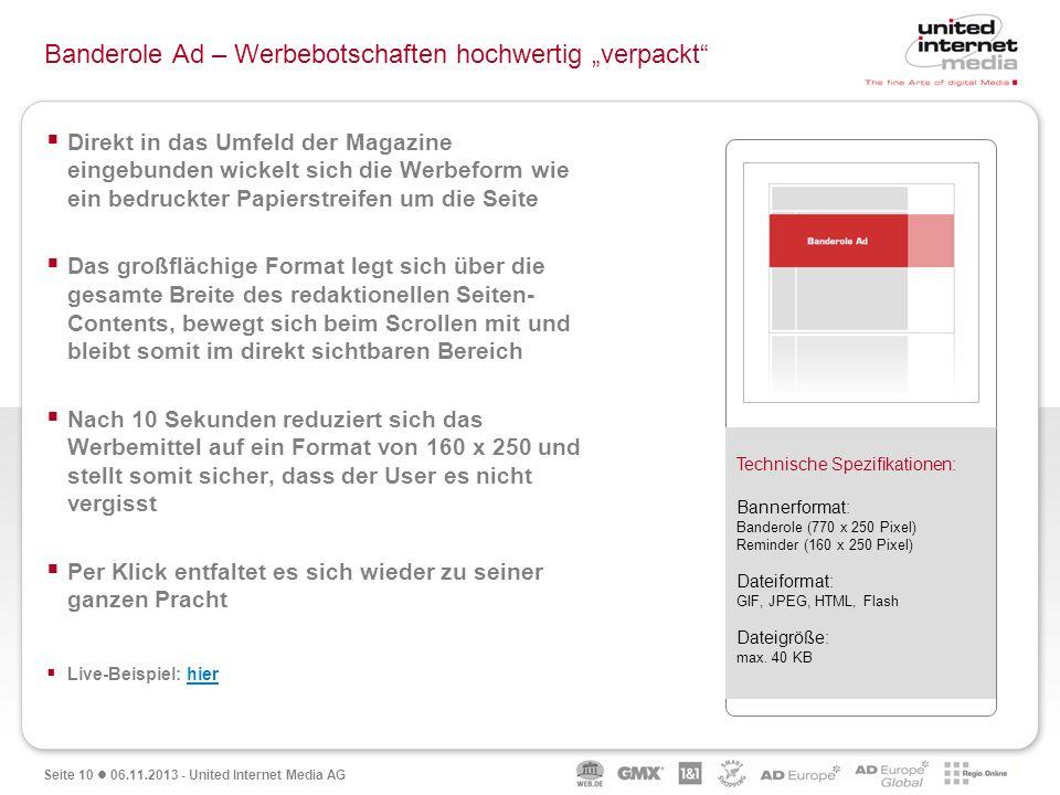 "Banderole Ad – Werbebotschaften hochwertig ""verpackt"