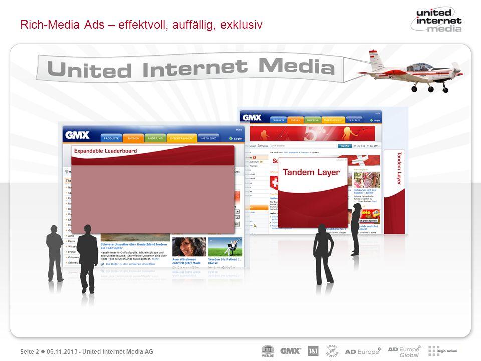 Rich-Media Ads – effektvoll, auffällig, exklusiv