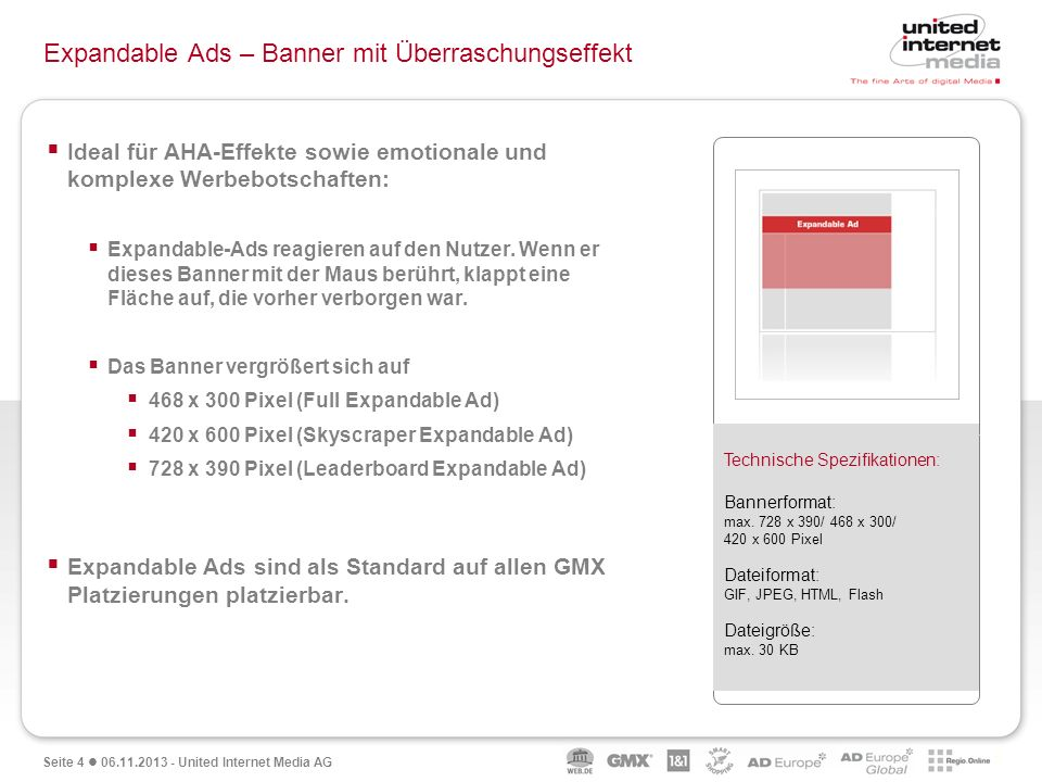 Expandable Ads – Banner mit Überraschungseffekt