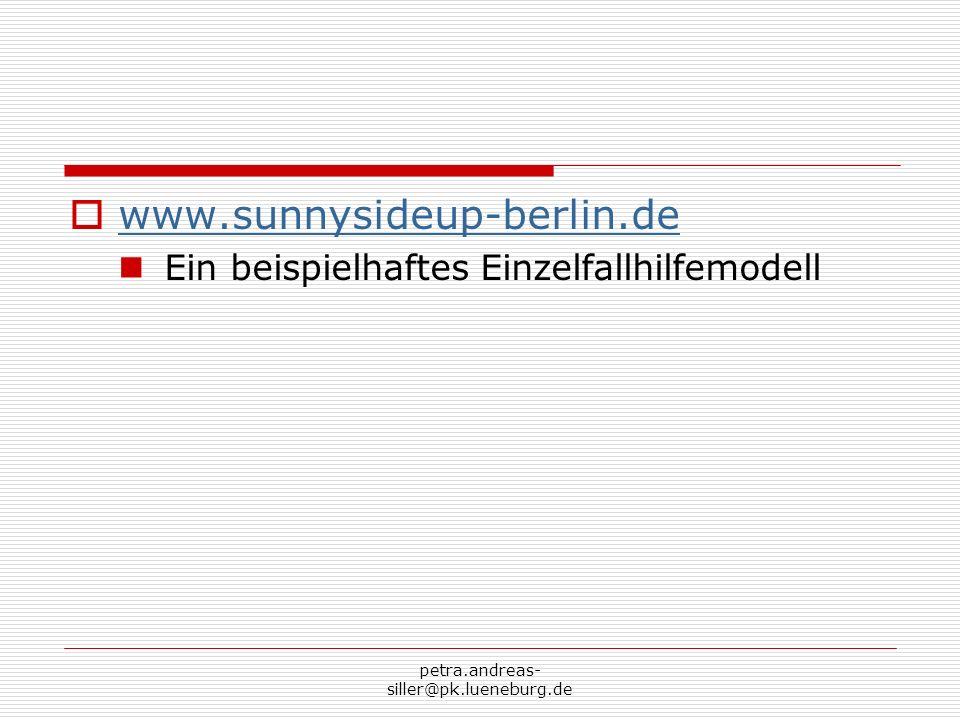 www.sunnysideup-berlin.de Ein beispielhaftes Einzelfallhilfemodell