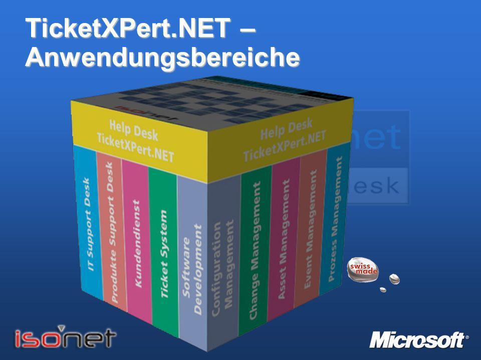 TicketXPert.NET – Anwendungsbereiche