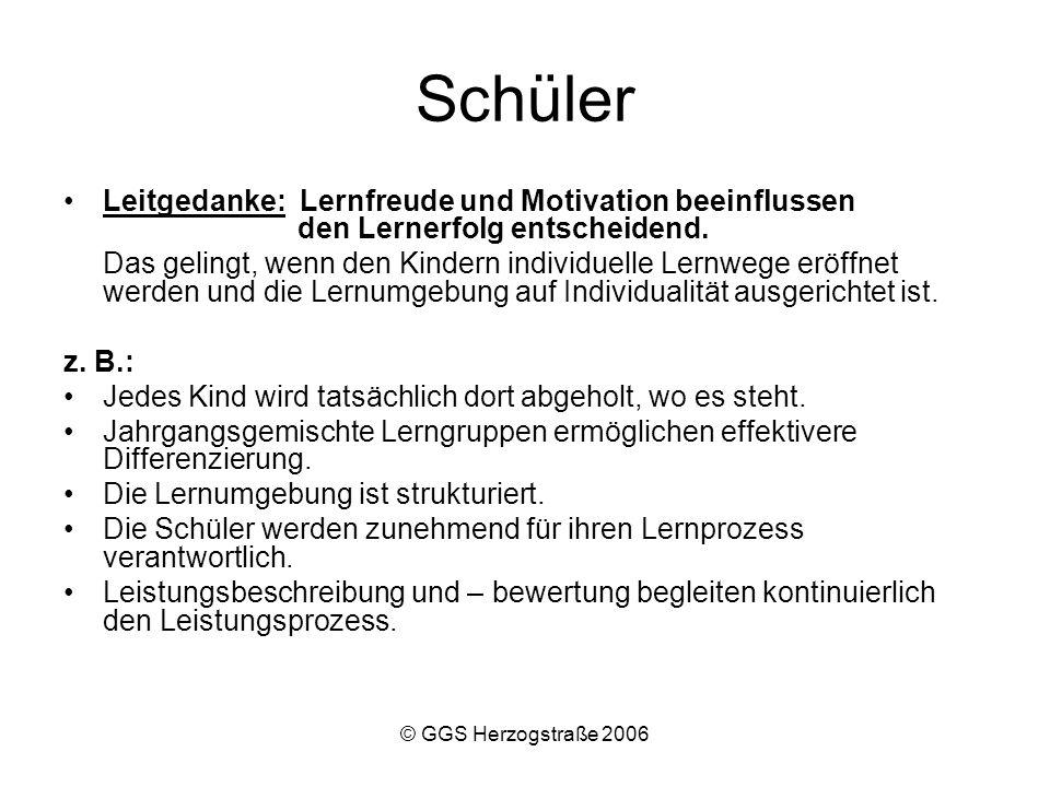 Schüler Leitgedanke: Lernfreude und Motivation beeinflussen den Lernerfolg entscheidend.