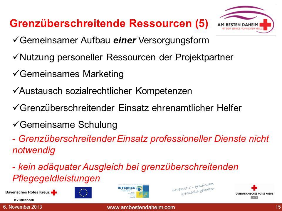 Grenzüberschreitende Ressourcen (5)