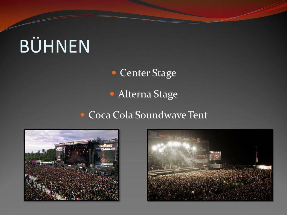 Coca Cola Soundwave Tent
