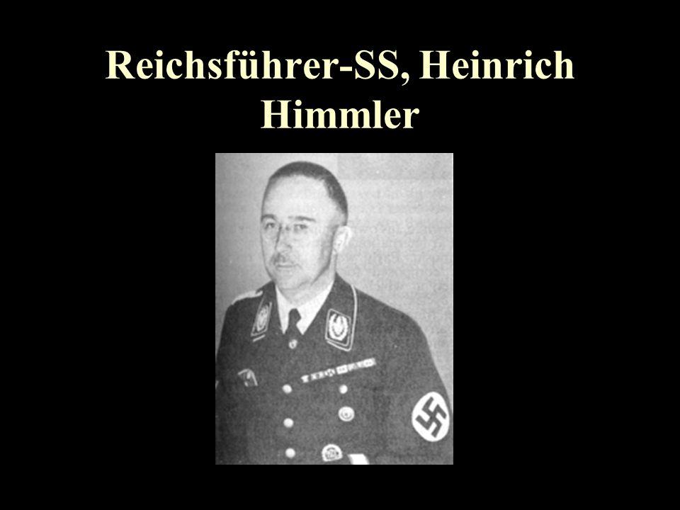 Reichsführer-SS, Heinrich Himmler