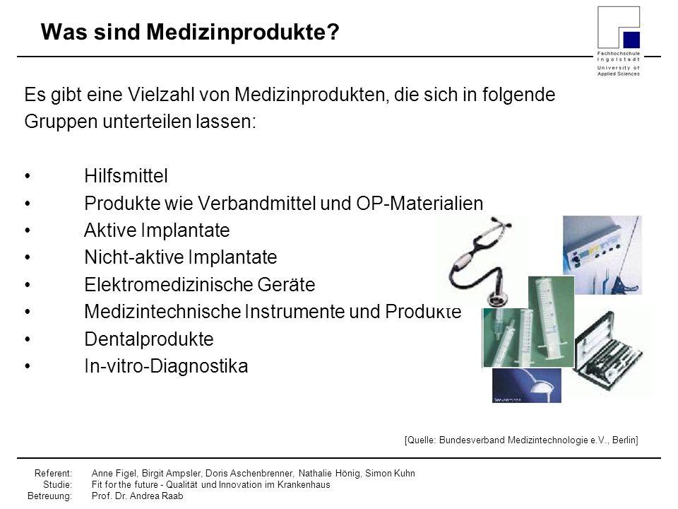 Was sind Medizinprodukte