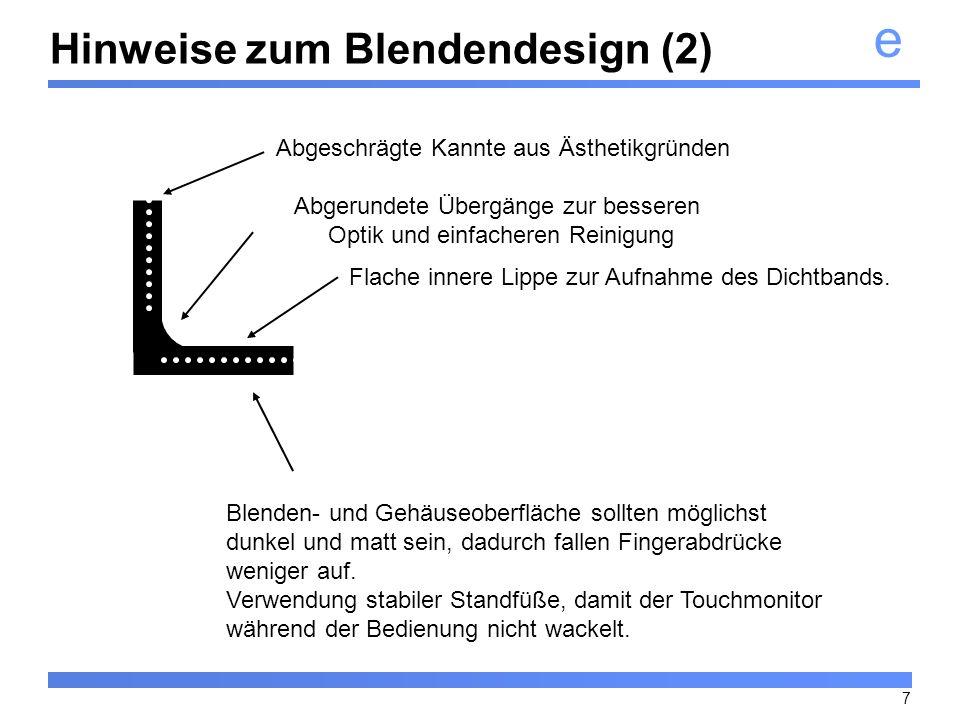 Hinweise zum Blendendesign (2)