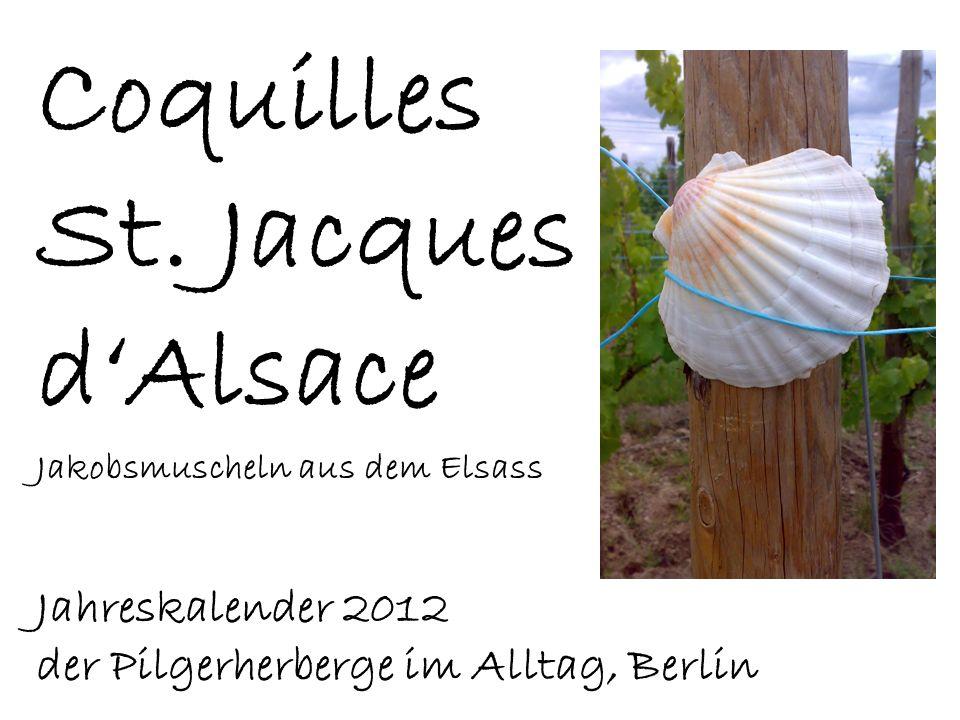 Coquilles St. Jacques d'Alsace Jahreskalender 2012