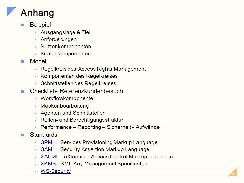 Anhang Beispiel Modell Checkliste Referenzkundenbesuch Standards