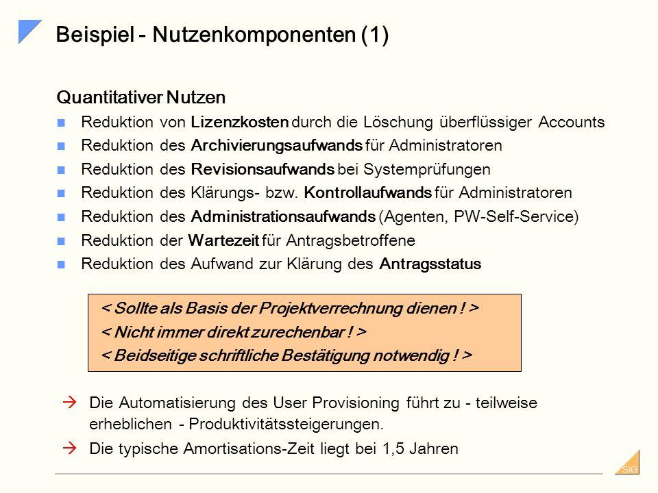 Beispiel - Nutzenkomponenten (1)