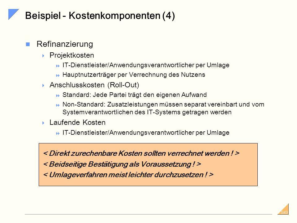 Beispiel - Kostenkomponenten (4)