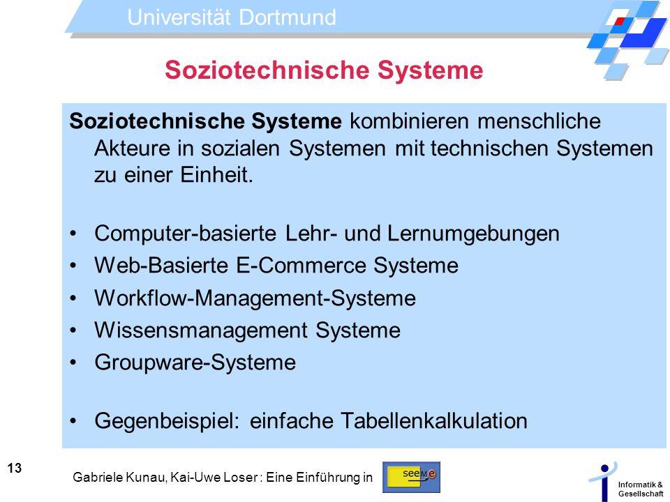 Soziotechnische Systeme