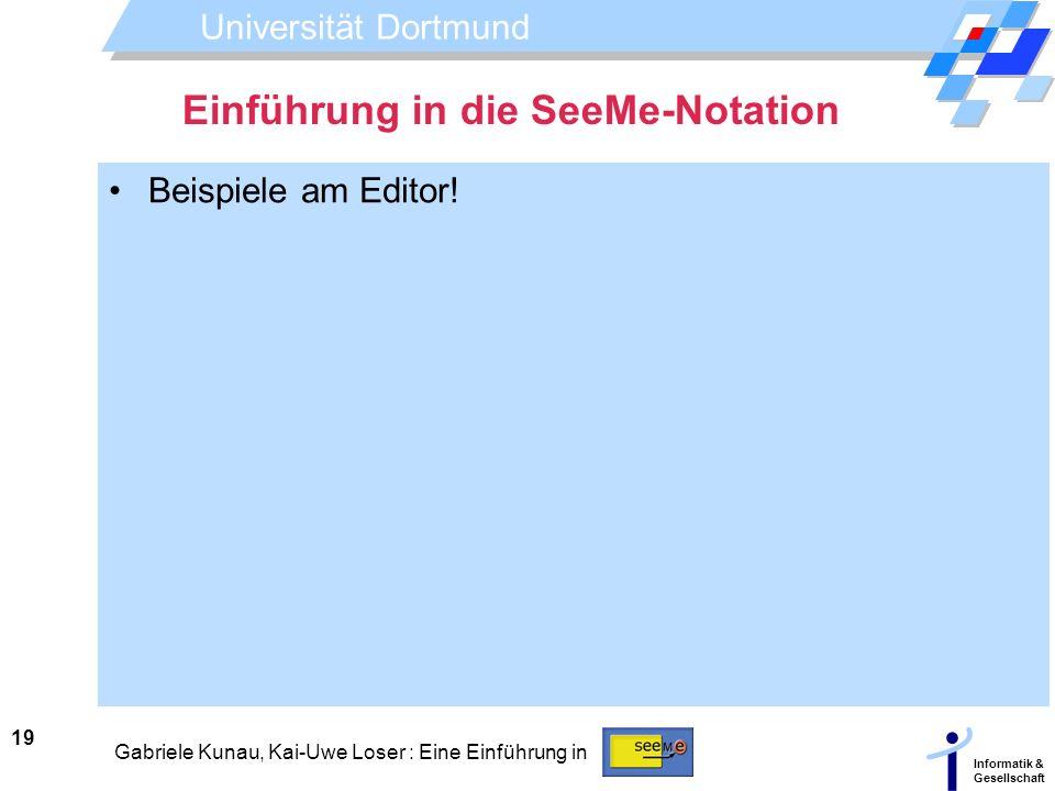 Einführung in die SeeMe-Notation