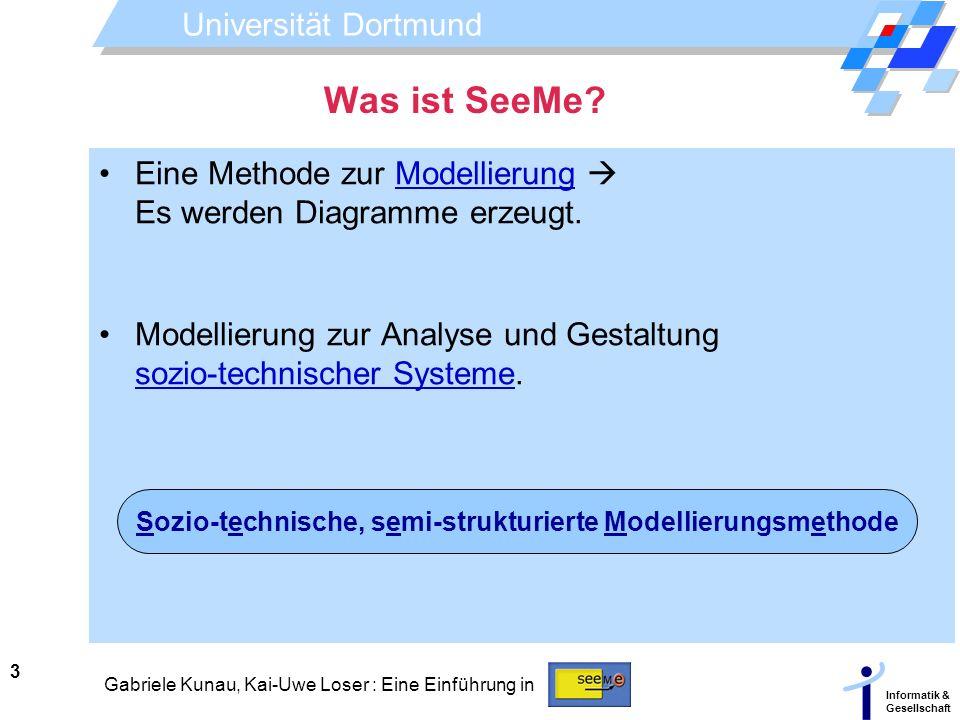 Sozio-technische, semi-strukturierte Modellierungsmethode