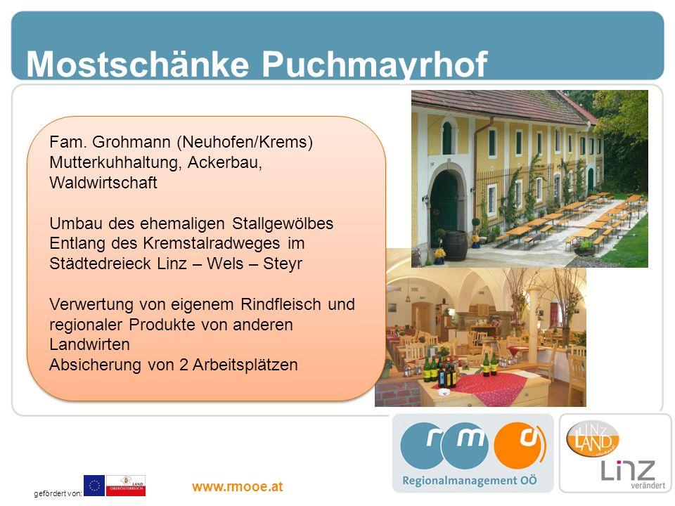 Mostschänke Puchmayrhof