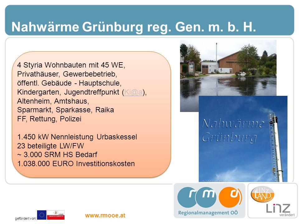 Nahwärme Grünburg reg. Gen. m. b. H.