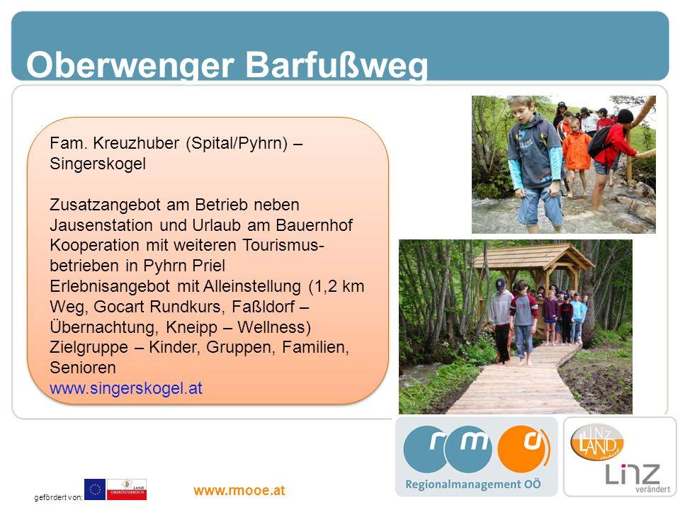 Oberwenger Barfußweg Fam. Kreuzhuber (Spital/Pyhrn) – Singerskogel
