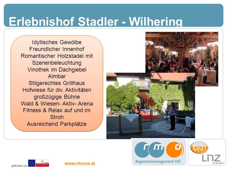 Erlebnishof Stadler - Wilhering
