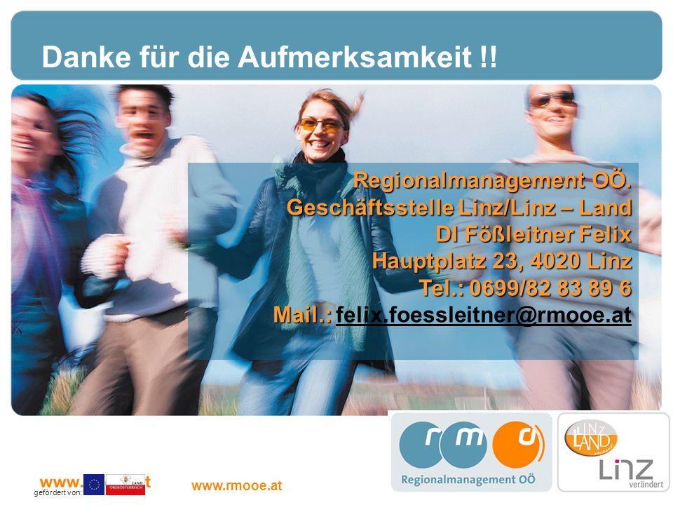 Linz/Linz-Land wir packen s an Danke für die Aufmerksamkeit !! Kontakt
