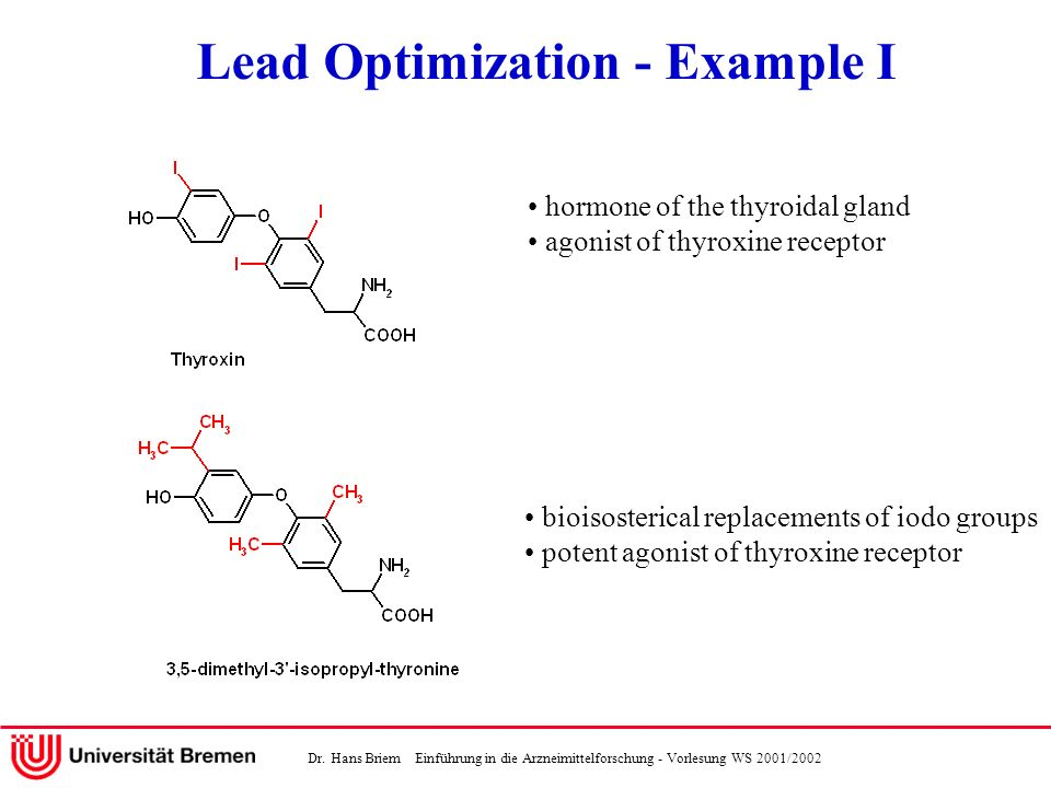 Lead Optimization - Example I
