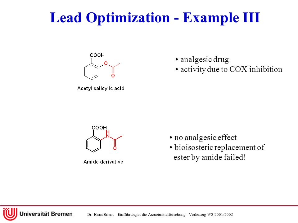 Lead Optimization - Example III