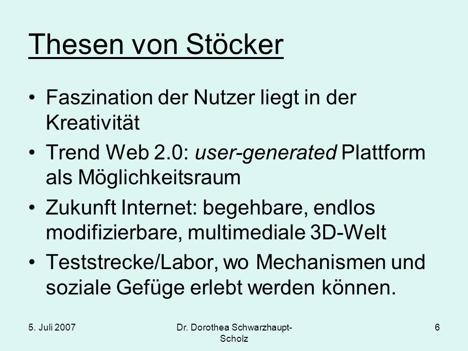 Dr. Dorothea Schwarzhaupt-Scholz