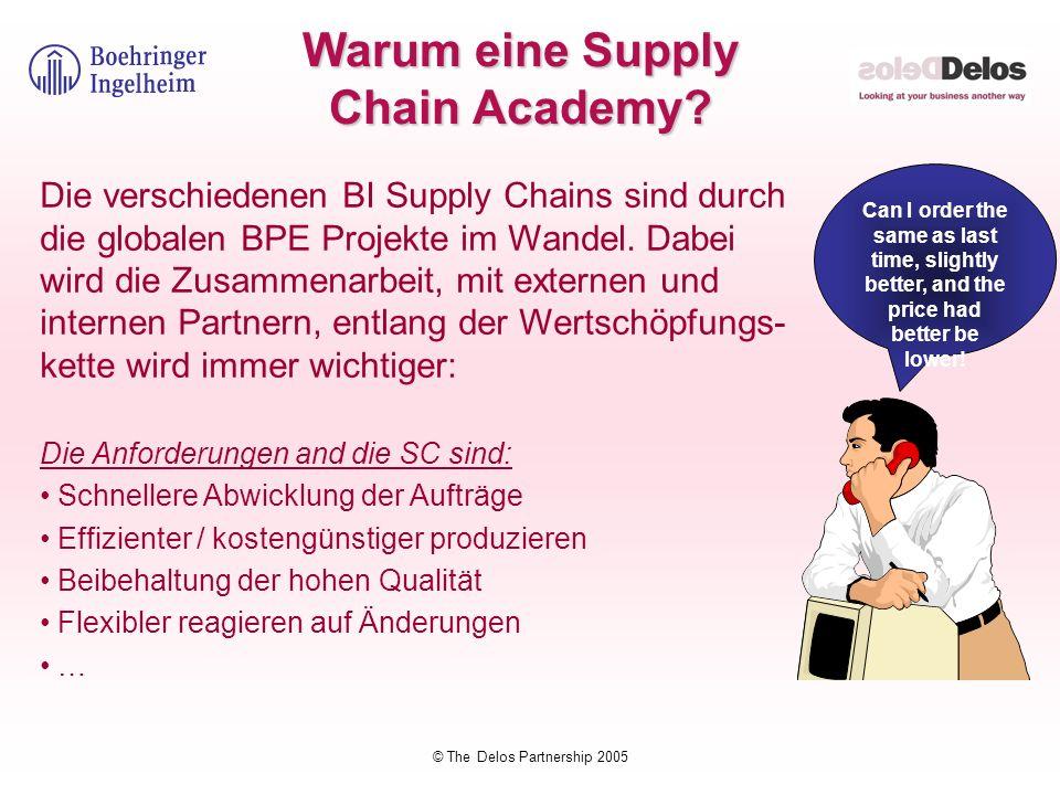 Warum eine Supply Chain Academy