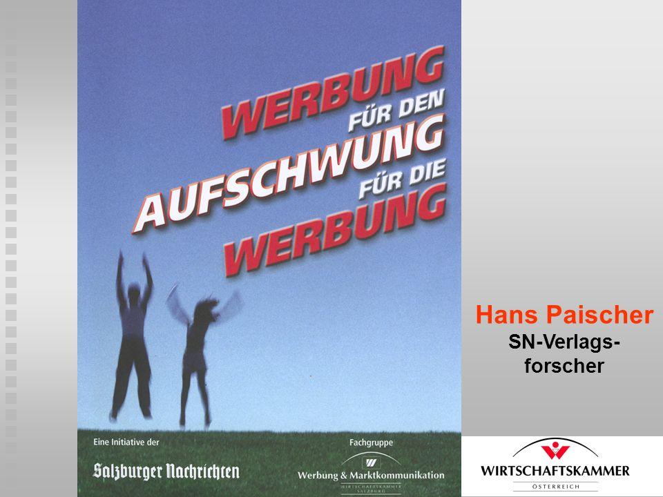 Hans Paischer SN-Verlags- forscher