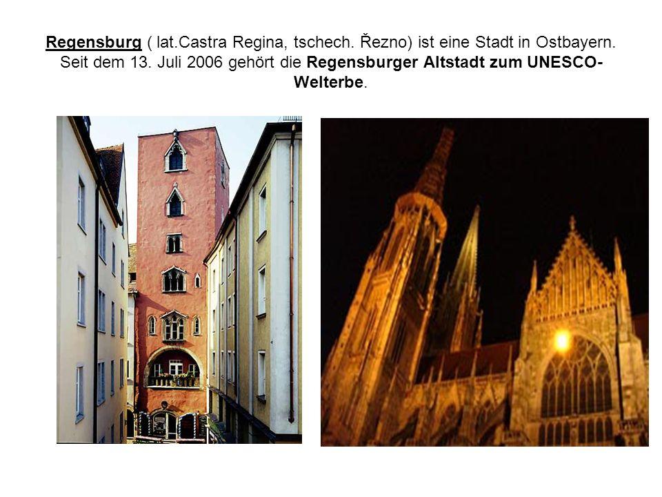 Regensburg ( lat. Castra Regina, tschech