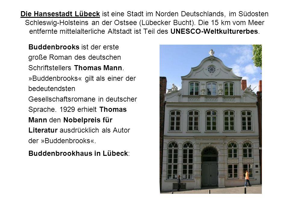 Buddenbrookhaus in Lübeck: