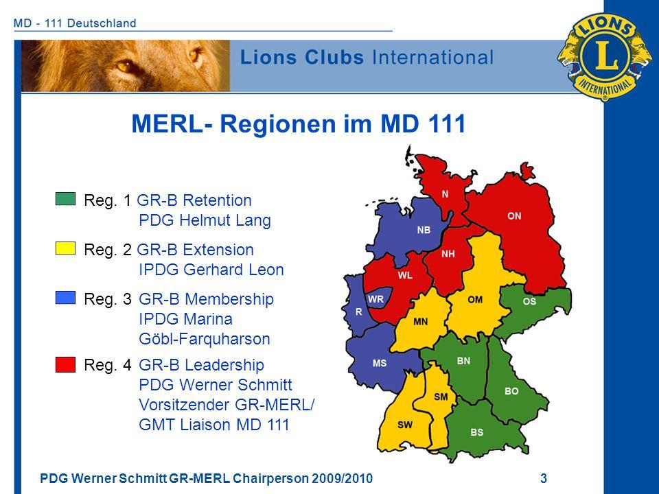 MERL- Regionen im MD 111 Reg. 1 GR-B Retention PDG Helmut Lang