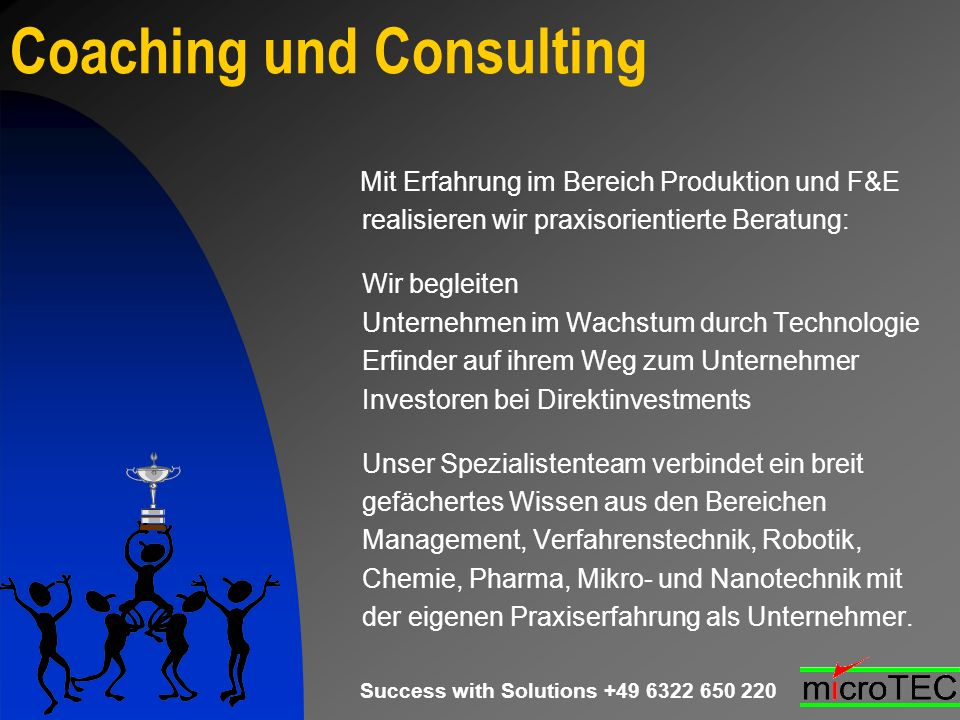 Coaching und Consulting