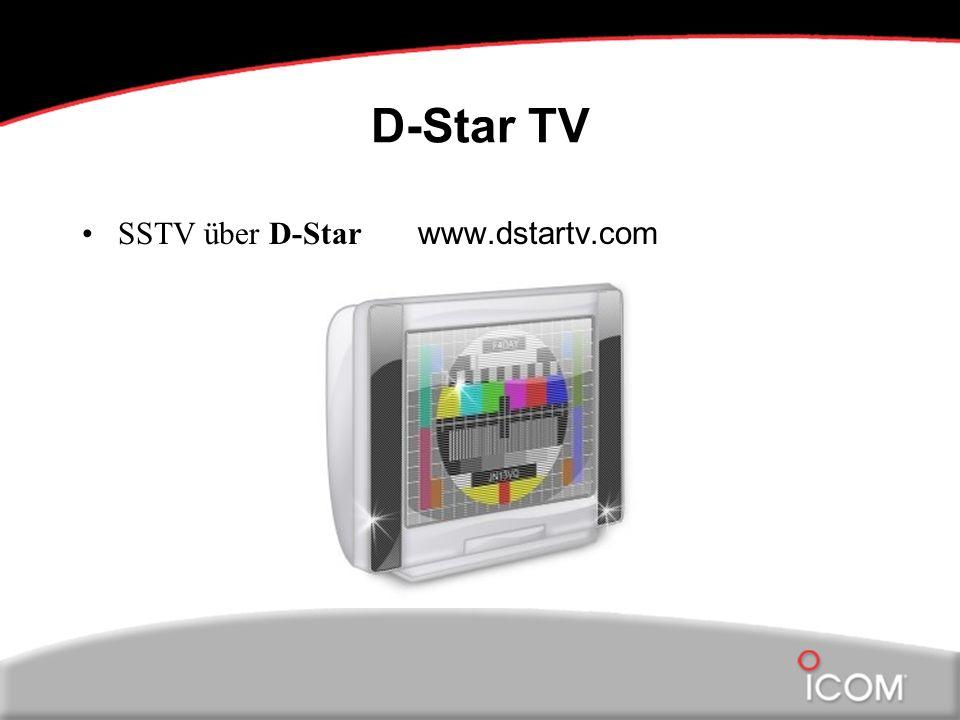 D-Star TV SSTV über D-Star www.dstartv.com