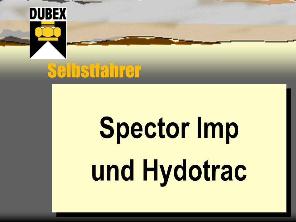 Spector Imp und Hydotrac