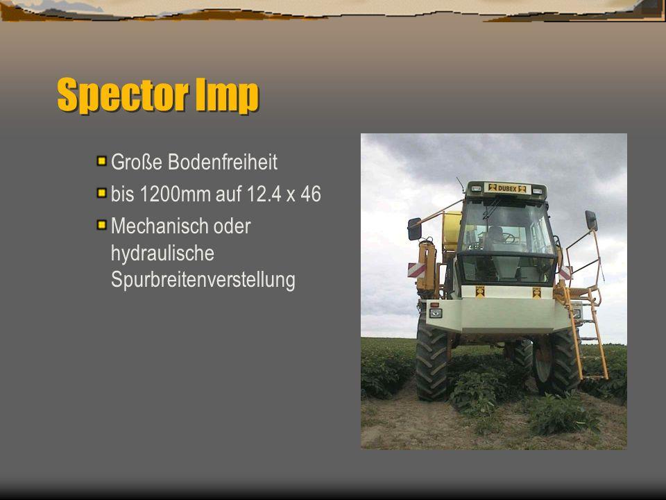 Spector Imp Große Bodenfreiheit bis 1200mm auf 12.4 x 46