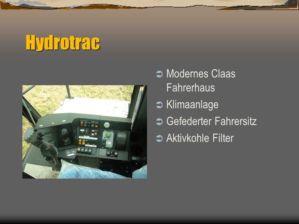 Hydrotrac Modernes Claas Fahrerhaus Klimaanlage Gefederter Fahrersitz