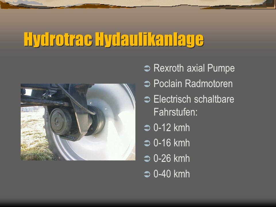Hydrotrac Hydaulikanlage