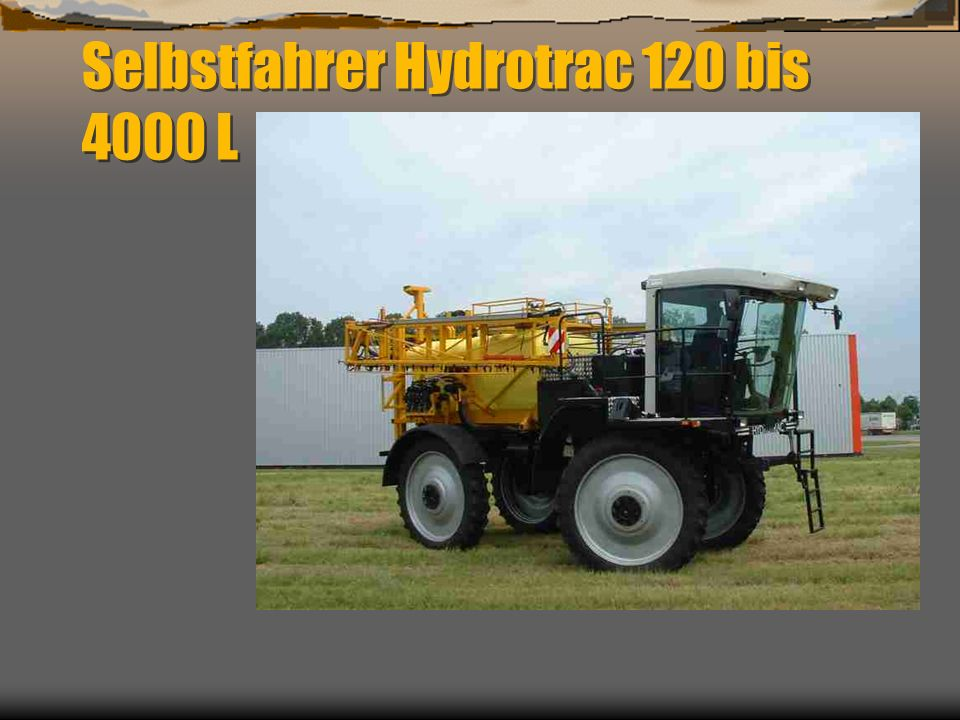 Selbstfahrer Hydrotrac 120 bis 4000 L