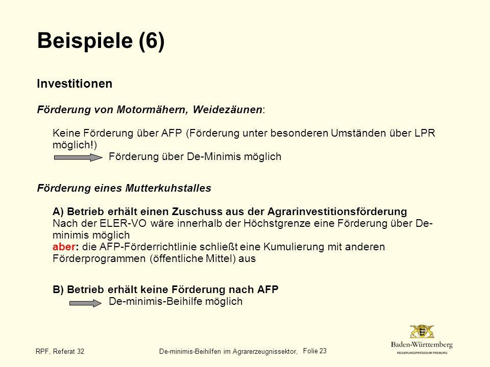 Beispiele (6)