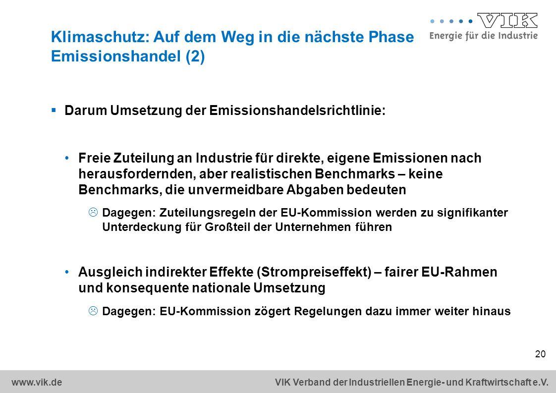 Klimaschutz: Auf dem Weg in die nächste Phase Emissionshandel (2)