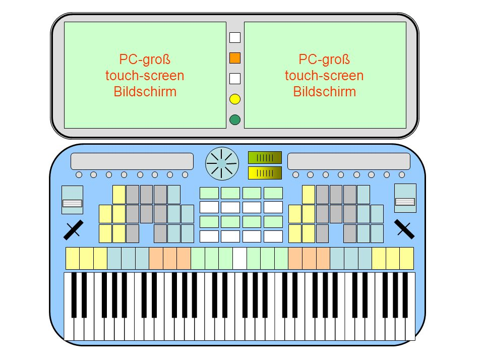PC-groß touch-screen Bildschirm PC-groß touch-screen Bildschirm 42