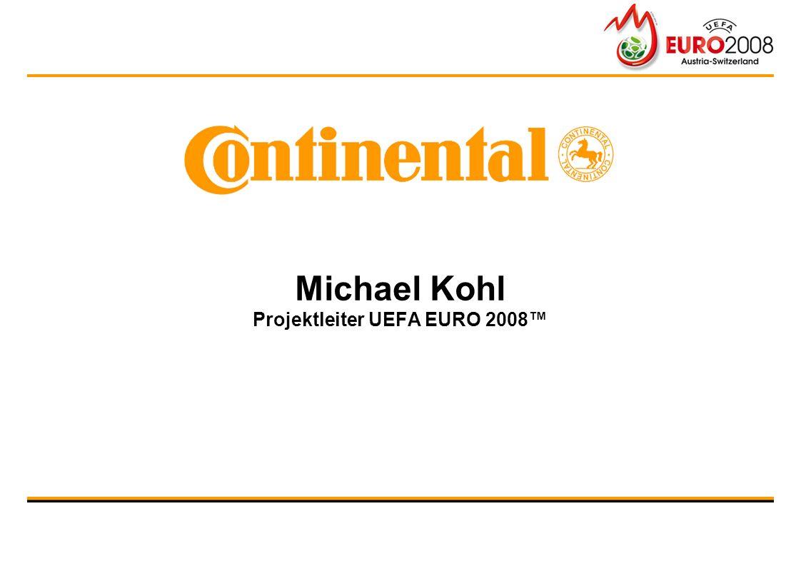 Michael Kohl Projektleiter UEFA EURO 2008™
