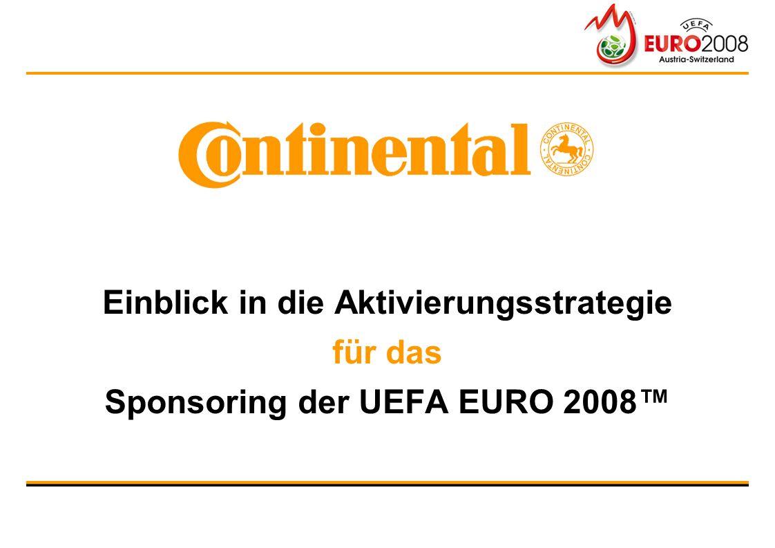 Einblick in die Aktivierungsstrategie für das Sponsoring der UEFA EURO 2008™