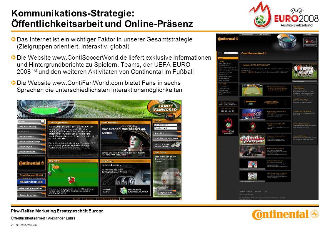 Kommunikations-Strategie: Öffentlichkeitsarbeit und Online-Präsenz