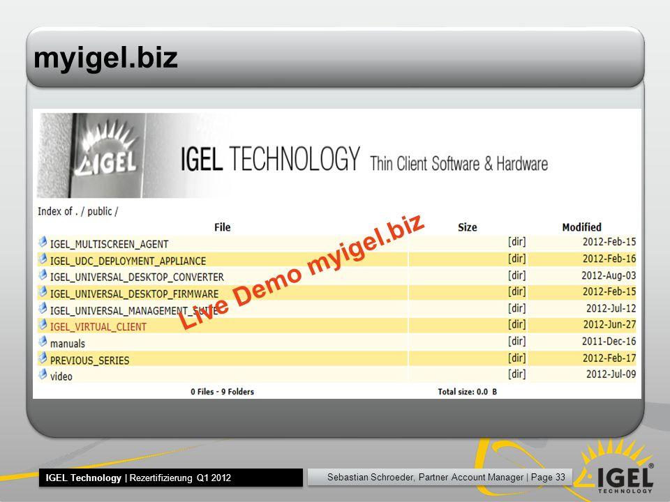 myigel.biz Live Demo myigel.biz